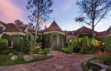 14,000 Square Foot French Country Mansion In Rancho Santa Fe, CA