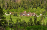 23,000 Square Foot Tudor Style Mansion In Redstone, CO