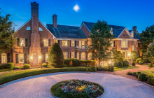 12,000 Square Foot Brick Colonial Mansion In Potomac, MD