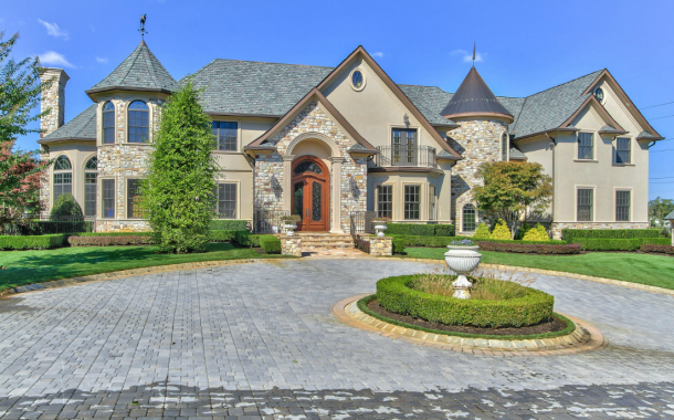 $4.75 Million French Inspired Mansion In Colts Neck, NJ