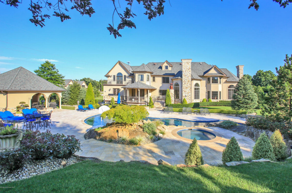 4 75 Million French Inspired Mansion In Colts Neck Nj