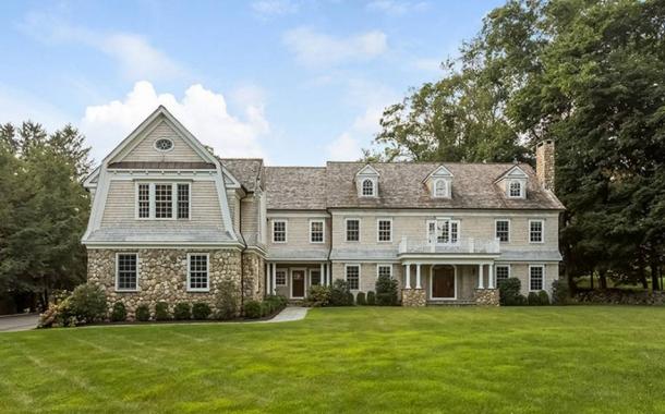 $3.499 Million Stone & Shingle Mansion In Westport CT