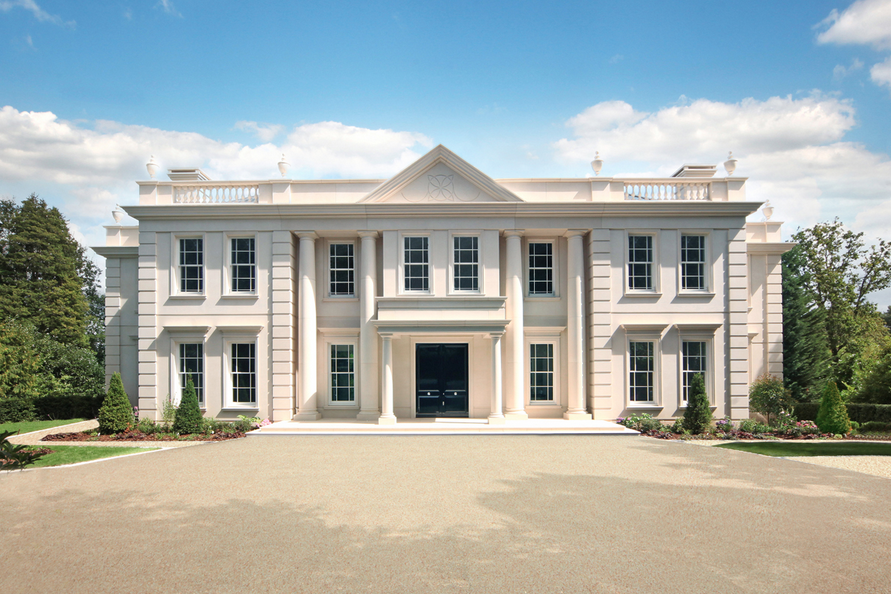 silverwood house a newly built limestone mansion in surrey england homes of the rich the