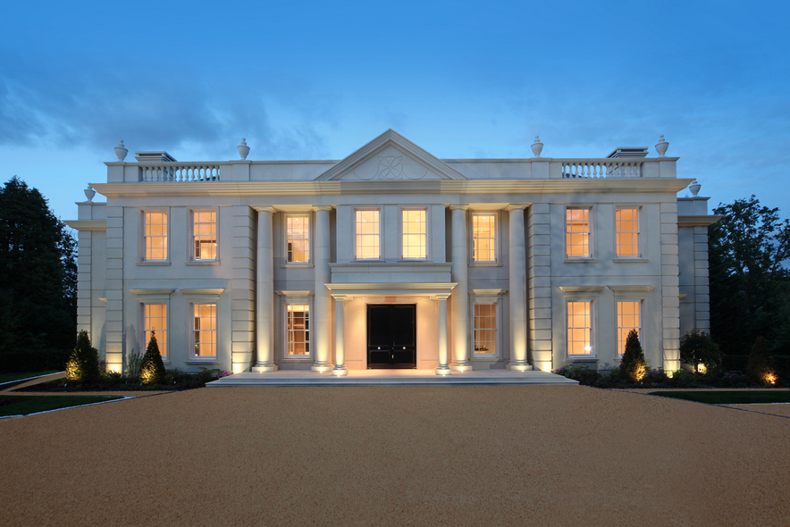 silverwood house a newly built limestone mansion in surrey england homes of the rich