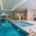 Indoor Pool Rendering