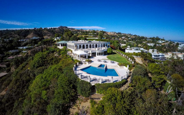 Hilltop Mansion In Beverly Hills, CA To List For A Rumored $135 Million