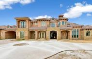 $2.95 Million Mediterranean Stone & Stucco Mansion In Southlake, TX