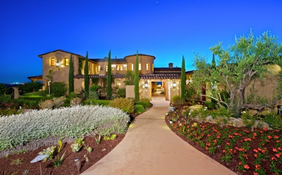 Million italian inspired home in san diego ca - 4 bedroom house for sale san diego ...