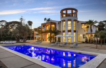 $35 Million Newly Built Contemporary Style Blufftop Mansion In Santa Barbara, CA