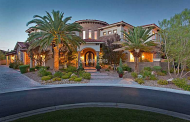 $3.75 Million Mediterranean Style Mansion In Las Vegas, NV