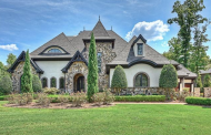 $3.49 Million Stone & Stucco Lakefront Home In Cornelius, NC