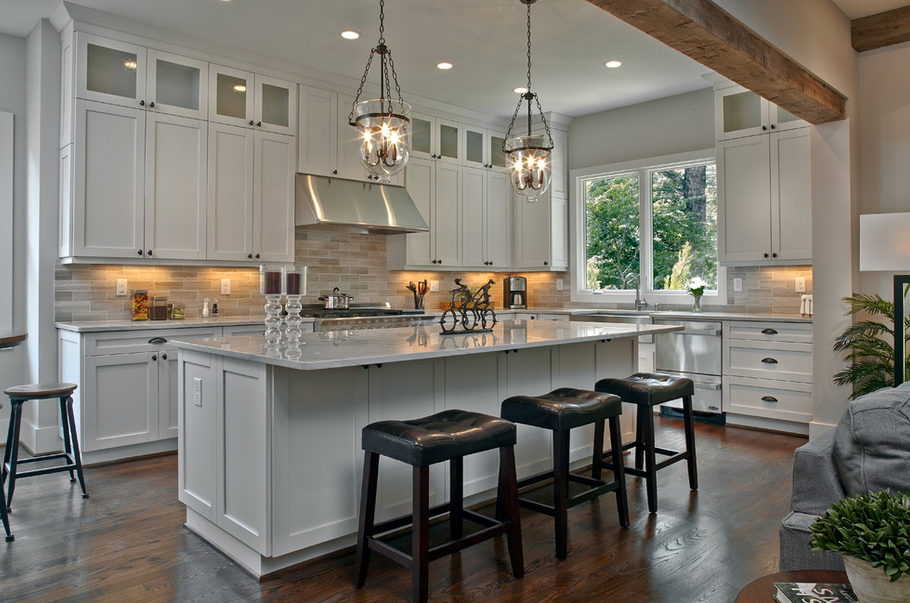 20 Beautiful Gourmet Kitchens   Homes of the Rich