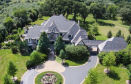 14,000 Square Foot European Inspired Brick Mansion In Barrington, IL