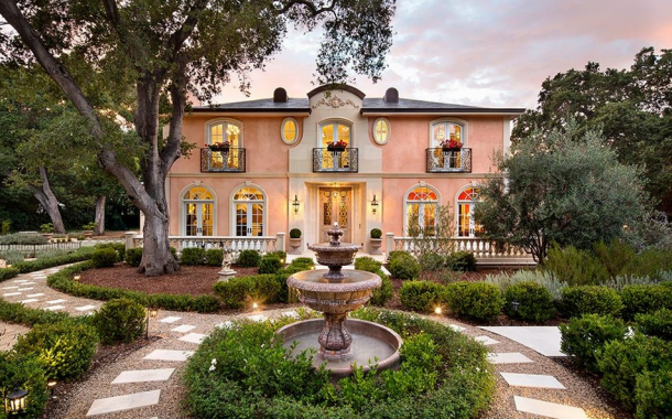 $7.988 Million Newly Built French Inspired Home In Atherton, CA