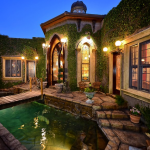 Front Entry & Moat