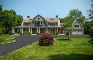 $8.85 Million Newly Built Stone & Shingle Mansion In Greenwich, CT