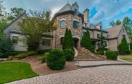 11,000 Square Foot Brick & Stone Mansion In Johns Creek, GA