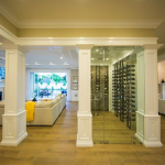 Family Room & Wine Cellar