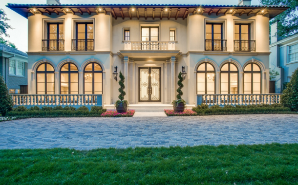 $7.895 Million Newly Built Mediterranean Mansion In Dallas, TX