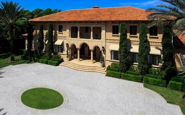$9.9 Million 13,000 Square Foot Mediterranean Mansion In Naples, FL