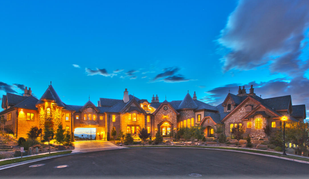 Draper (UT) United States  city photos : the draper castle a 23000 square foot brick stone mansion in draper ut