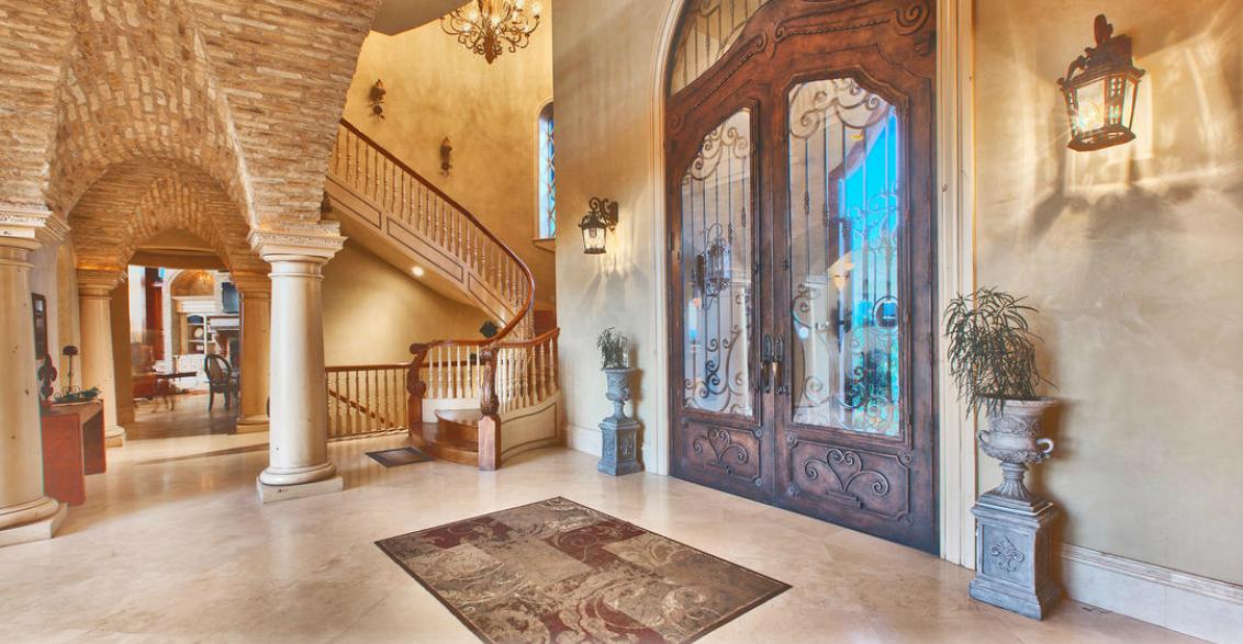 the draper castle a 23000 square foot brick stone mansion in draper ut