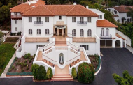 10,000 Square Foot Spanish Colonial Revival Mansion In Los Angeles, CA