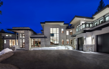 $8.9 Million Newly Built Mountaintop Contemporary Mansion In Park City, UT