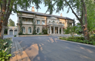 Stately 20,000+ Square Foot Neoclassical Stone Mega Mansion In Toronto, Canada Re-Listed