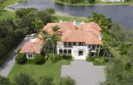 $6.2 Million Waterfront Mediterranean Mansion In Weston, FL