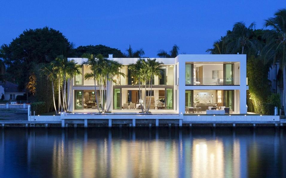 14 5 Million Modern Waterfront Home In Boca Raton
