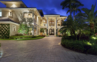 13,000 Square Foot European Inspired Waterfront Mansion In Boca Raton, FL