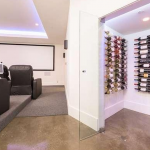 Home Theater & Wine Cellar