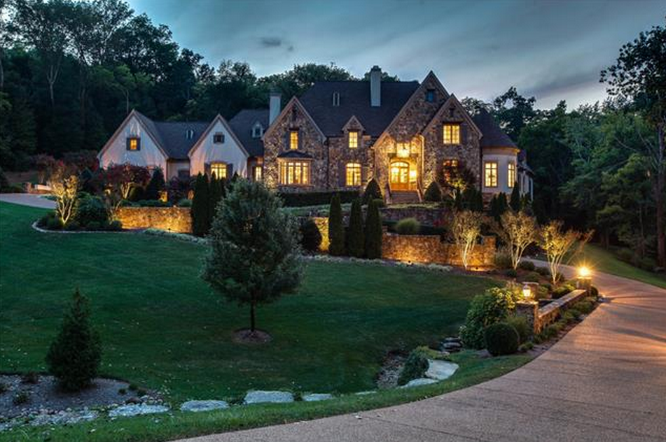 13,000 Square Foot French Country Mansion In Franklin, TN | Homes of the Rich