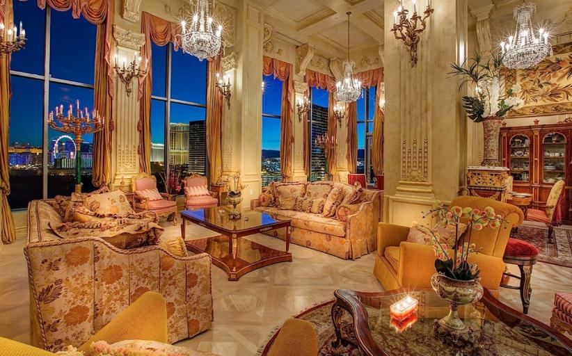 $4.8 Million Lavish Penthouse In Las Vegas, NV