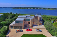 $5.2 Million Bayfront Contemporary Home In Westhampton Beach, NY