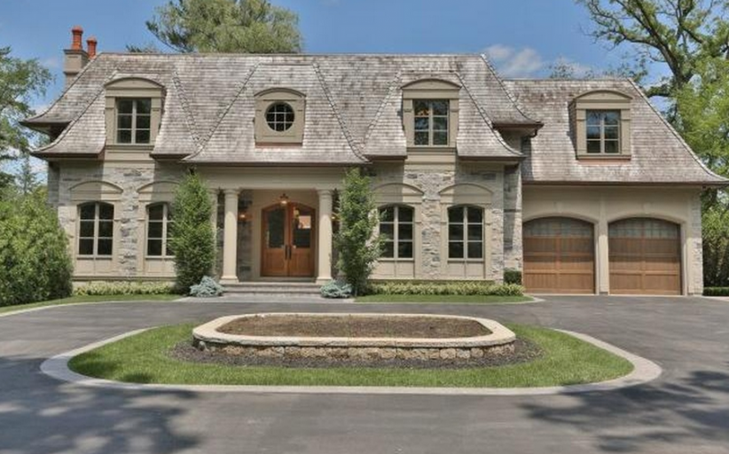$7.995 Million French Inspired Mansion In Oakville, Canada