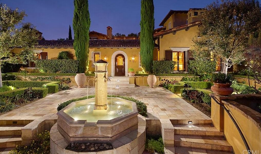 $7.75 Million European Inspired Mansion In Irvine, CA