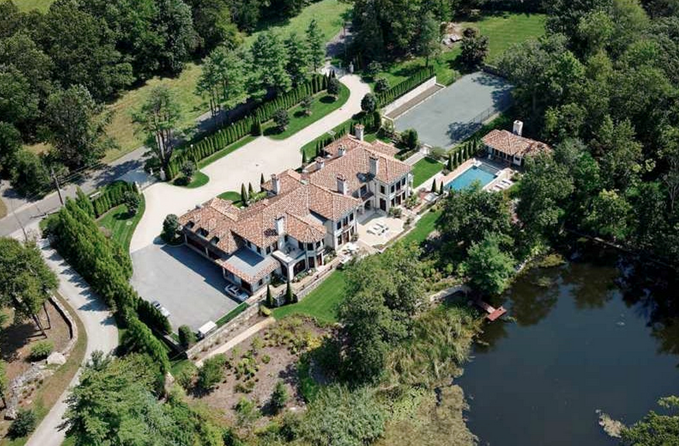 21,000 Square Foot European Inspired Mansion In Greenwich