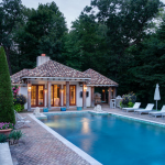 Swimming Pool & Pool House