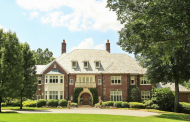 $8.15 Million Brick Georgian Mansion In Armonk, NY