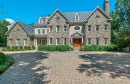 14,000 Square Foot Lakefront Stone Colonial Mansion In Great Falls, VA