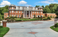 30,000 Square Foot Brick Mega Mansion In Potomac, MD
