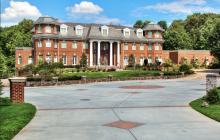 30,000 Square Foot Brick Mega Mansion In Potomac, MD