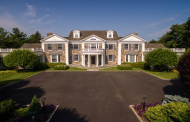 $7.995 Million Stone & Shingle Georgian Mansion In New Canaan, CT