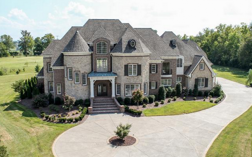 14,000 Square Foot Brick Mansion In Brentwood, TN
