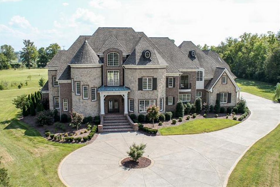 14 000 Square Foot Brick Mansion In Brentwood Tn Homes