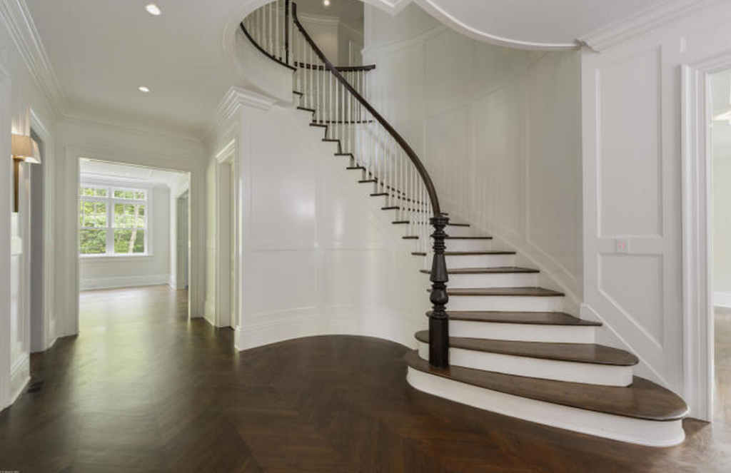 Foyer Staircase Qld : Million newly built federal style shingle home in