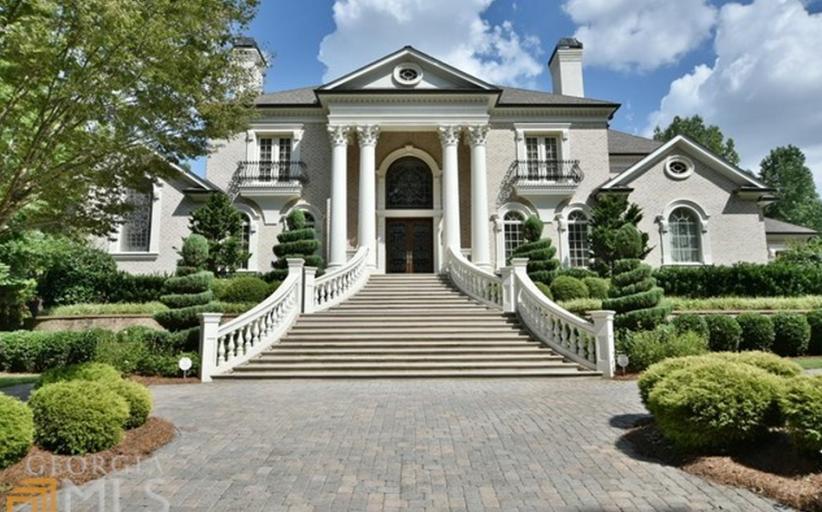 $3.2 Million European Inspired Home In Duluth, GA