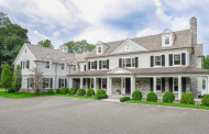 $9.595 Million Newly Built Stone & Shingle Colonial Mansion In Greenwich, CT
